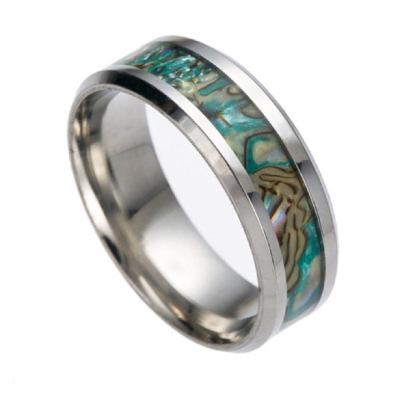 The Yorke Abalone Shell Ring