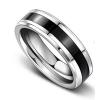 Argyle Titanium Men's Ring, Men's Rings Online, Wedding Band, Men's Wedding Band, Men's Wedding Ring, Bridal Set, Just Rings Online