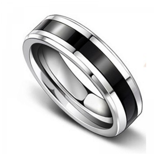 Argyle Titanium Men's Ring, Men's Rings Online, Wedding Band, Men's Wedding Band, Men's Wedding Ring, Bridal Set, Just Rings Online