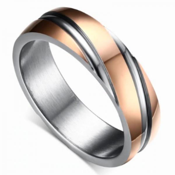 Cleaverville Titanium Men's Ring