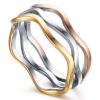 Mazu 3 Tone Ladies Ring, Ladies ring onnline, Ladies Rings, Womens RIngs, Just Rings Online, Free Express Postage