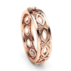 Malle Rose Gold Ladies Band, ladies ring, ladies rings online, stainless steel ring, fashion rings, afterpay rings, oxipay rings, laybuy rings, paypal rings, just rings online