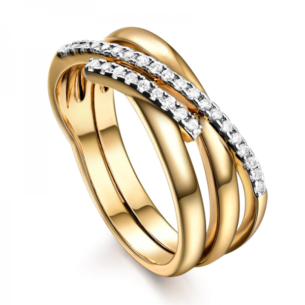 Star Cross Gold Tungsten Ladies Ring, ladies ring, wedding rings, women ring afterpay