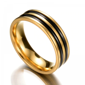 Ticked Gold Men's Band, weeding band, mens rings online, afterpay, laybuy, oxipay, paypal