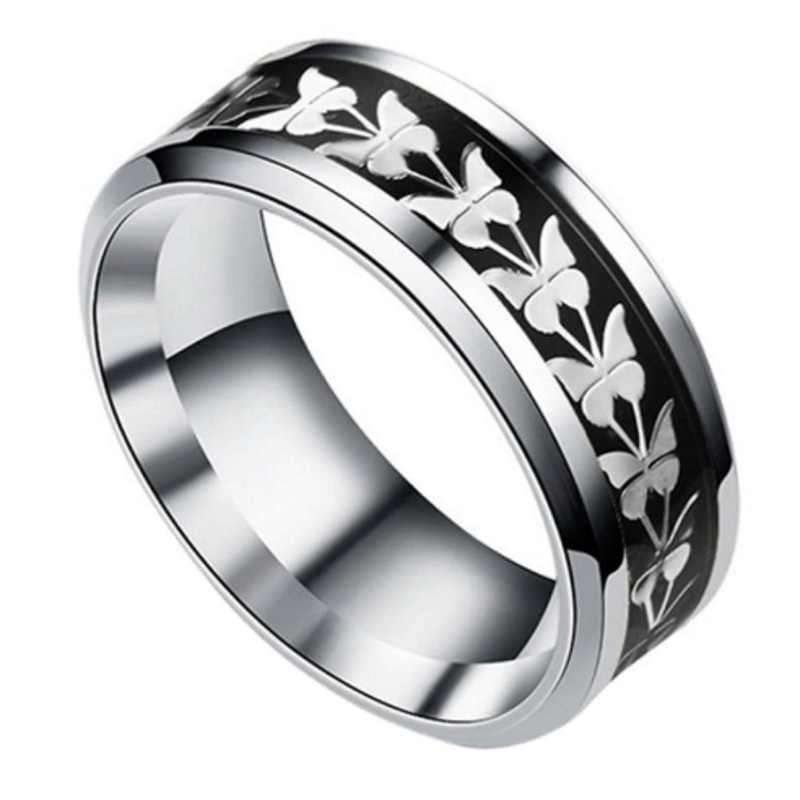 Butterfly Night Silver Ring, Ring Online, Ladies Rings Online, Ladies Rings, Fashion Rings, Butterfly Ring, Butterflies Ring, Afterpay, Zippay, Laybuy