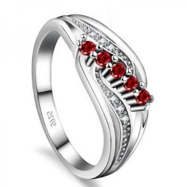 Gemma Pink S925 Ladies Ring, ladies ring, wedding rings, women ring afterpay