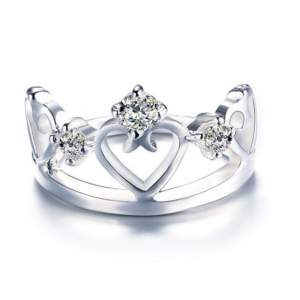 Crown Ladies Ring, ladies ring, wedding rings, women ring afterpay
