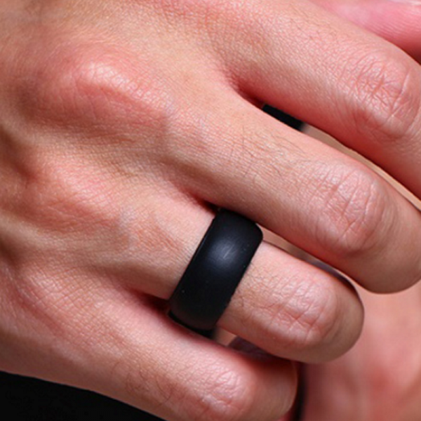 Tough Black Silicone Ring, Rings, Engagement rings, wedding rings, promise rings, ring, diamond rings, jewelry, mens wedding bands, rings for women, wedding bands, gold ring, mens ring, engament rings for women, diamond engagement rings, cushion cut engagement rings, jewelry stores, wedding rings for women, wedding ring sets, wedding bands for women, silver rings, men's jewelry, eternity ring, gold engagement rings, micheal hill, michealhill, anguscoote, angus and coote, pandora, prouds, tiffany, shiels, cartier, lovisa, jewellery, pandora rings, Tough Rings, Silicone Rings, Work Safe Rings