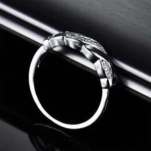Astara Silver Tone Ladies Ring, Ladies rings online, Just Rings Online, Womens Rings, Prouds, Engagement, Wedding Rings, Wedding Bands, Afterpay,Zippay, Humm, Oxipay, Laybuy, PayPal,