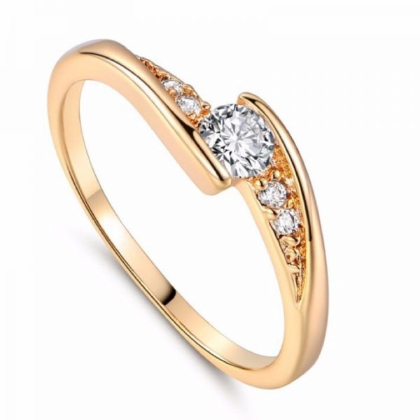 Star Gold Tone Stainless Ladies Ring, Just Rings Online, Ladies Rings Online, Engagement Rings, Wedding Rings, Ladies Rings, Afterpay Rings, Humm Rings, Laybuy