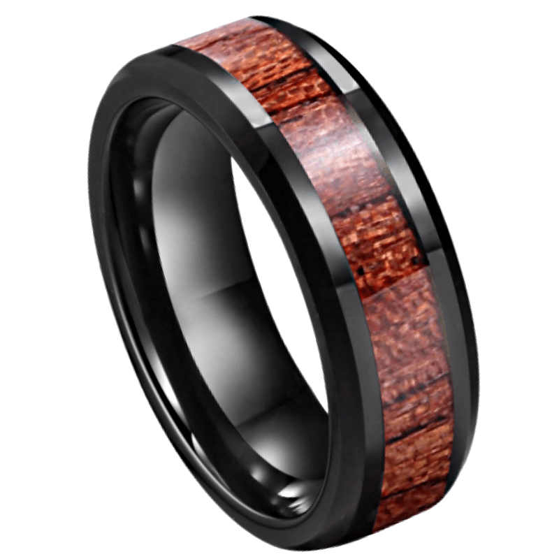 Wolf Men's Tungsten Ring, mens ring, mens band, ladies ring, kladies band, unisex ring, unisex band, wood ring, wood band, mens rings online, ladies rings online, afterpay rings, oxipay rings, laybauy rings, paypal rings, just rings online, Australian stock, free express shipping, free shipping