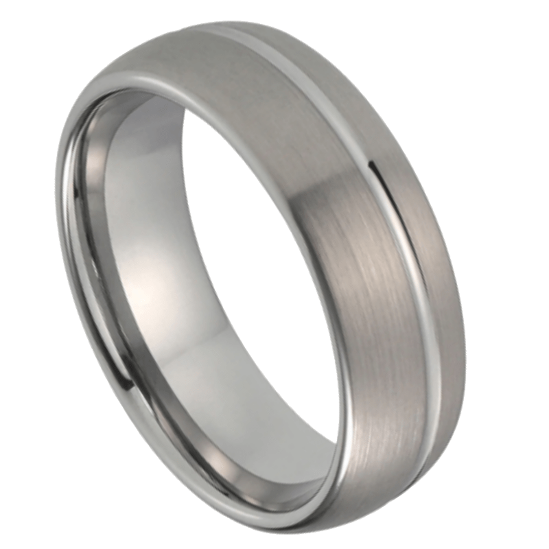 Murphy Men's Tungsten Ring, Men's Tungsten Ring, Mens Rings Online., Prouds, Micheal Hill, Wedding rings, Afterpay, Laybuy, zippay, Payapl, humm, oxipay, Mens ring, silver band, brushed wedding ring, OOTD