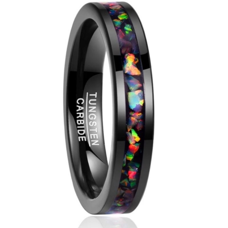 Isa Tungsten Ring, men's rings online, opal ring, rings on Afterpay, Laybuy, Humm, PayPal, Latitudepay, free Express Postage, just rings, prouds, Ladies rings, wedding rings, Australian Business